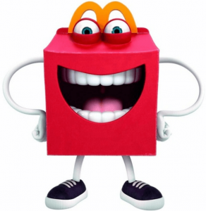McDonalds happy mascot