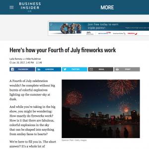 Business insider 4th July blog